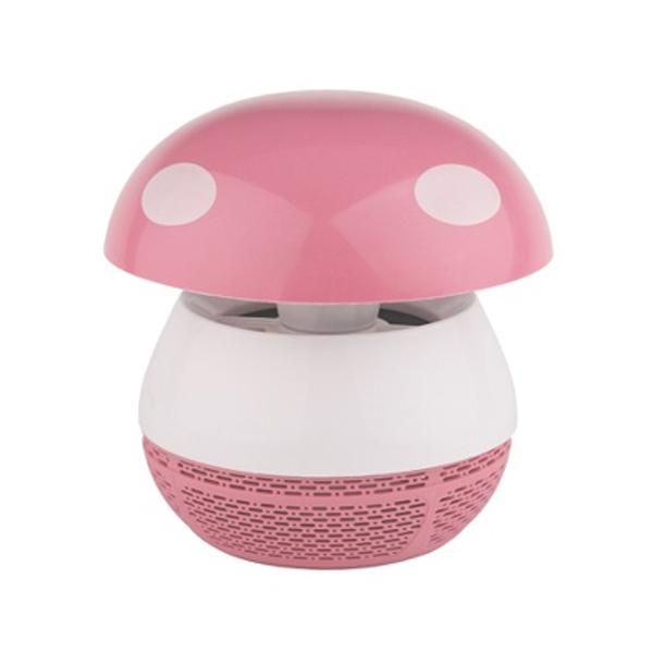 Противомоскитная ультрафиолетовая лампа ЭРА ERAMF-03 (розовый)