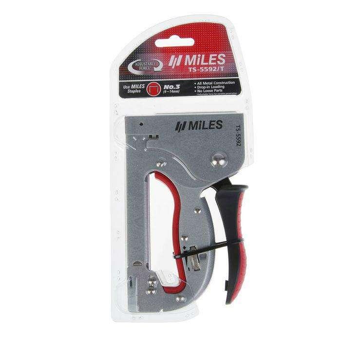 Степлер мебельный Miles TS-5592