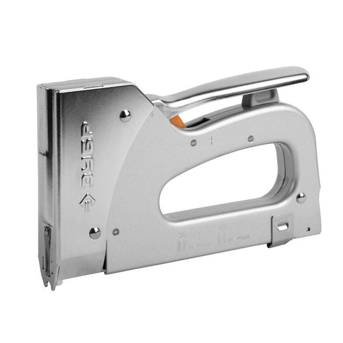 Степлер ЗУБР 31580, для скоб тип 36 (10-14 мм) и тип 28 (9-11 мм)