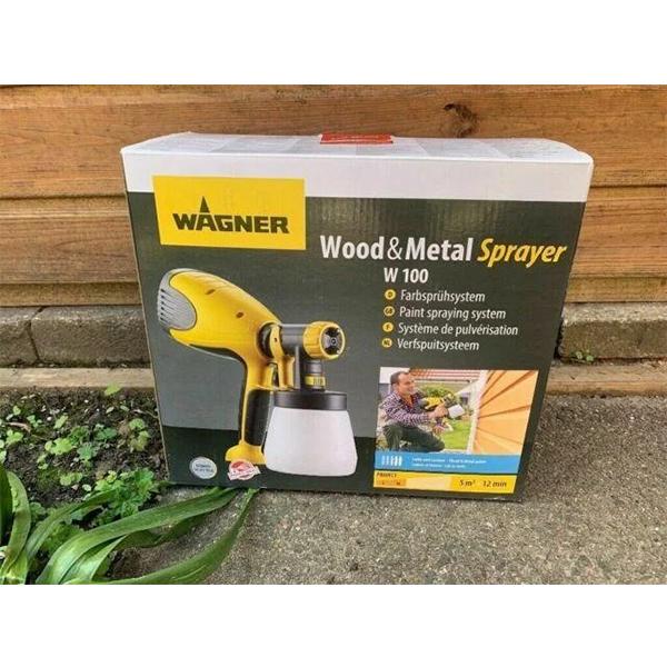 Краскораспылитель бытовой Wagner Wood & Metal Sprayer 100