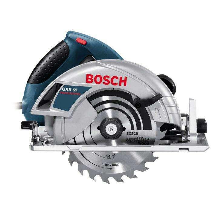 Пила циркулярная Bosch GKS 65 1600 Вт