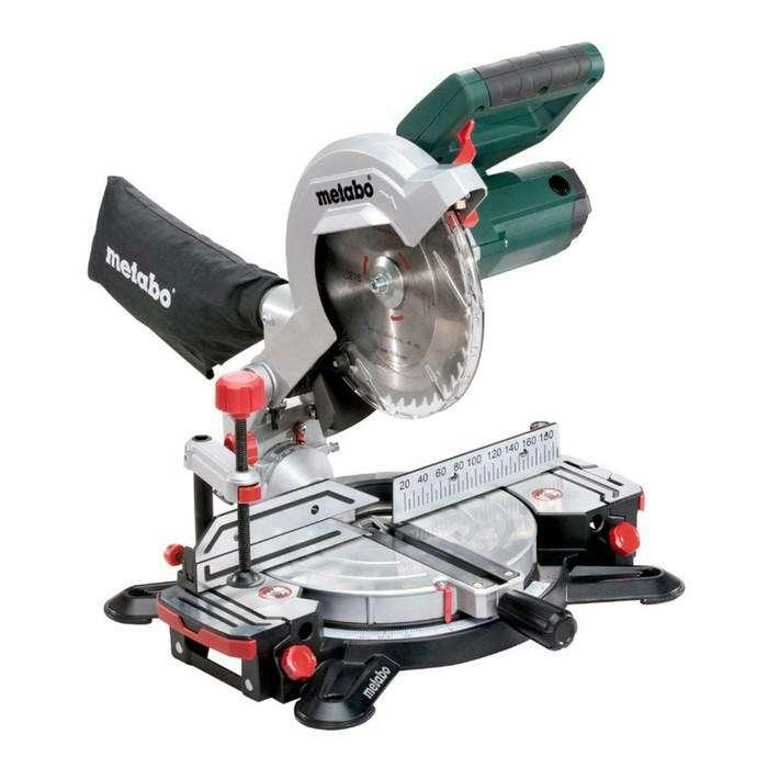 Пила торцевая Metabo KS 216 М Lasercut, 1100Вт, 5000 об/м, диск 216х30 мм