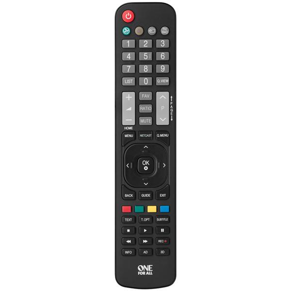 Пульт управления One For All для телевизоров LG URC1911