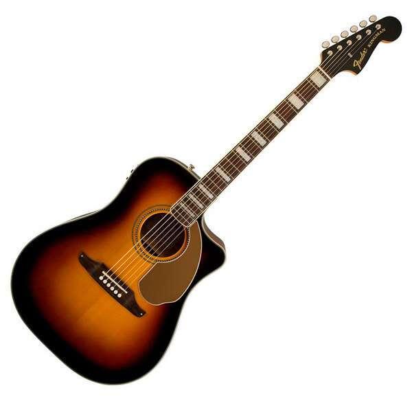 Электроакустическая гитара Fender Kingman ASCE V3 3TS W/C
