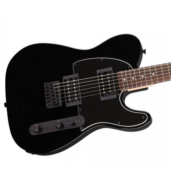 Электрогитара Squier Affinity Telecaster HH Laurel Fingerboard Metallic Black with Matching Headstock
