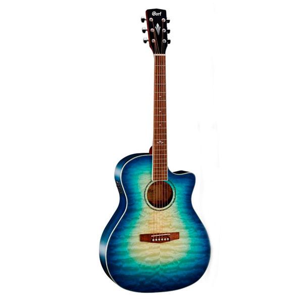 Электроакустическая гитара Cort GA-QF CBB