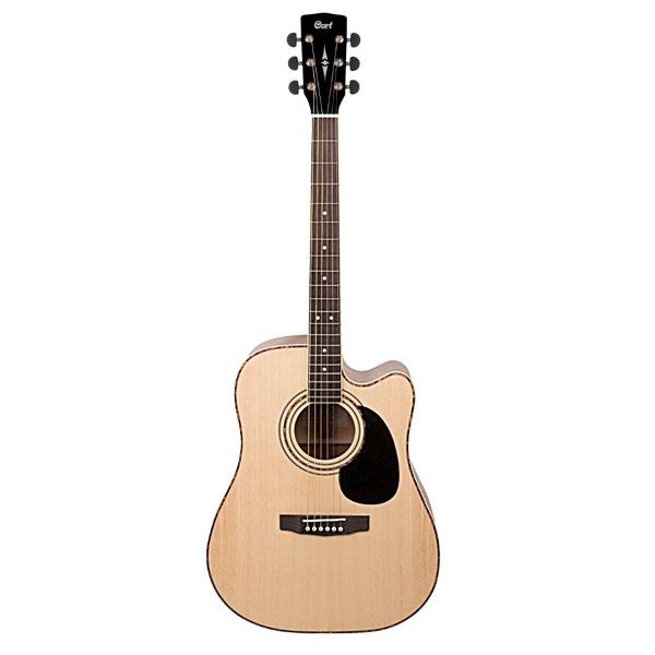 Электроакустическая гитара Cort AD880CE NS W/BAG