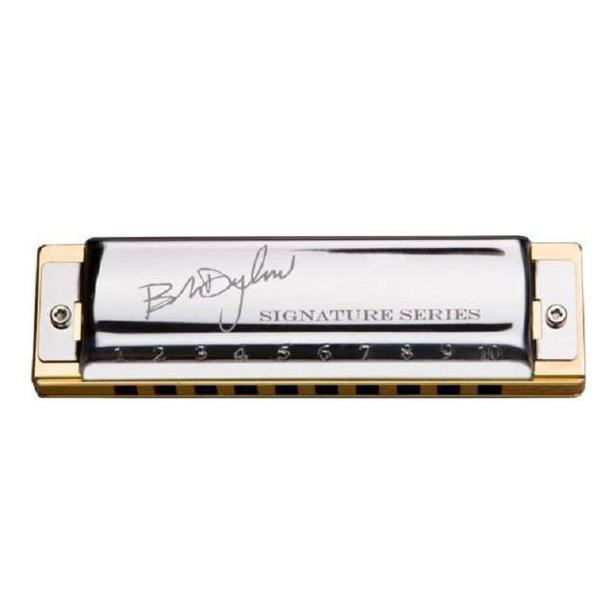 Губная гармошка Hohner Именная модель Bob Dylan M589016