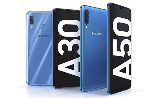 Презентация Galaxy A30 и A50