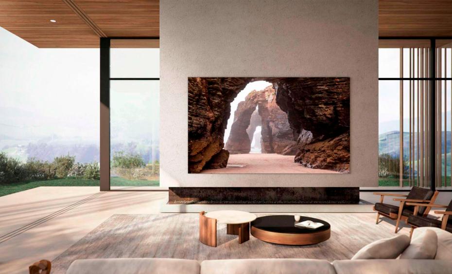 Samsung представила 110-дюймовый 4K-телевизор
