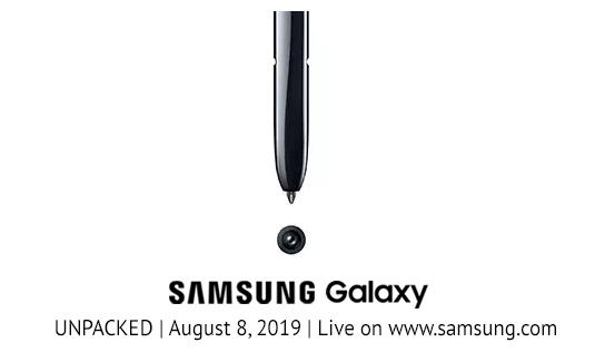Презентация новинок от Samsung 2019 года