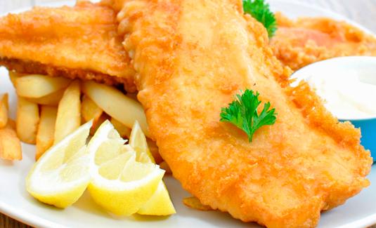 Fish&Chips (рыба и картофель фри)