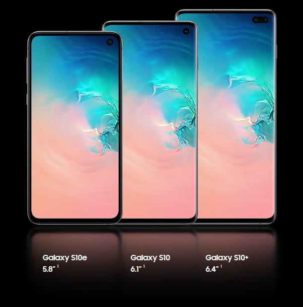 Galaxy S10/S10e/S10+