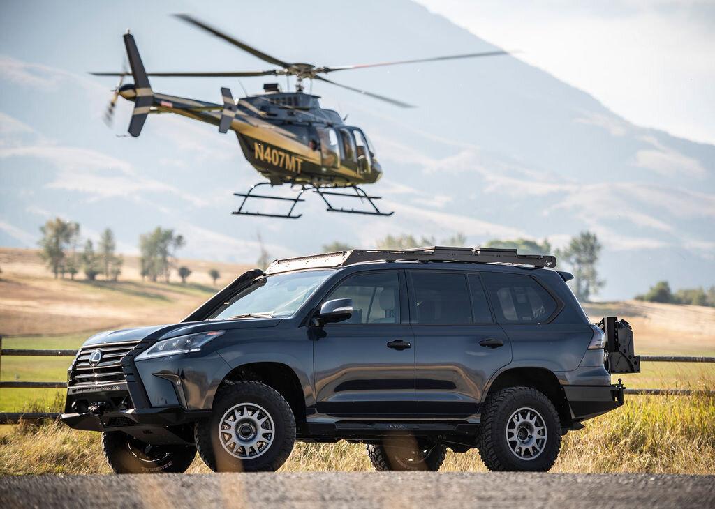Lexus LX превратили в «экспедиционник» специально для женского ралли-рейда