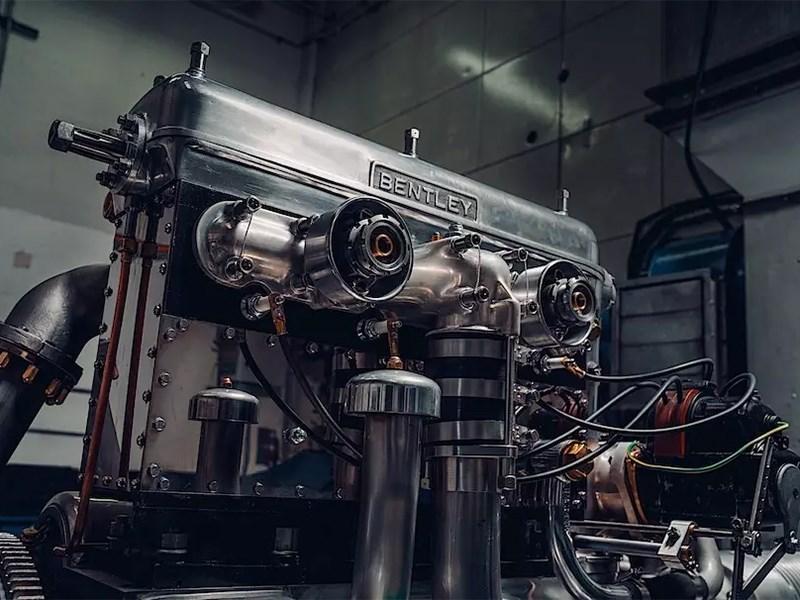 Bentley испытали первый двигатель для довоенных спорткаров