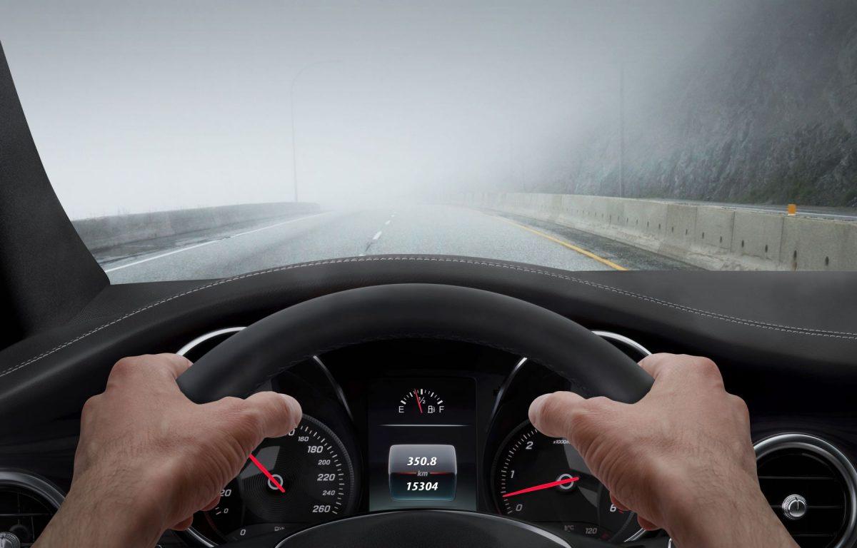 Управление автомобилем в туман