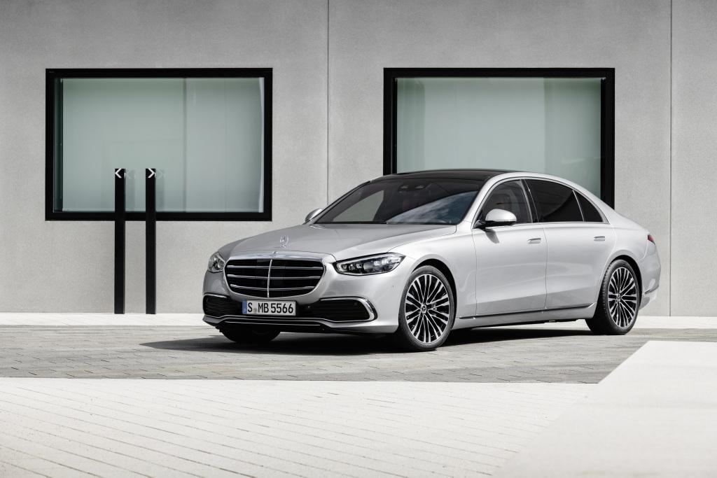 Mercedes представил новый S-Класс