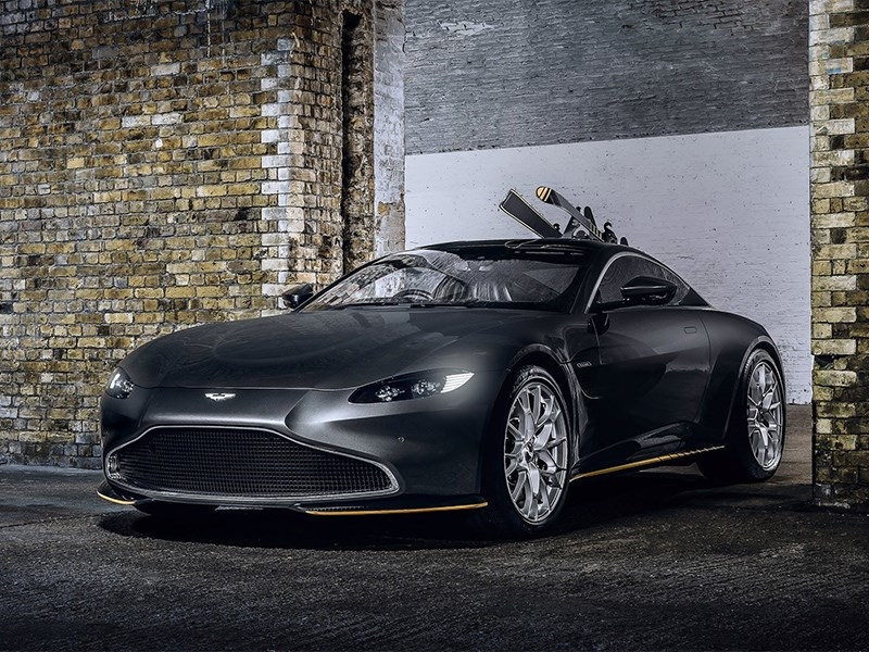 Aston Martin: автомобили для Джеймса Бонда